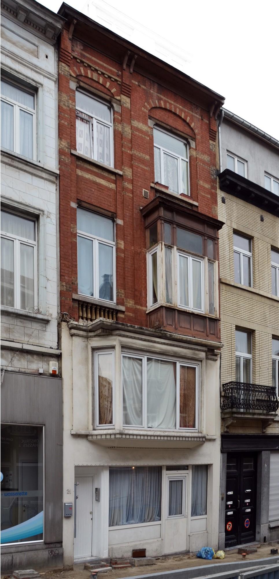 Rue des eburons 21 bruxelles extension est bruxelles for Architecte bruxelles